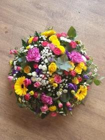 Posy Pink, Yellow, Purple and White